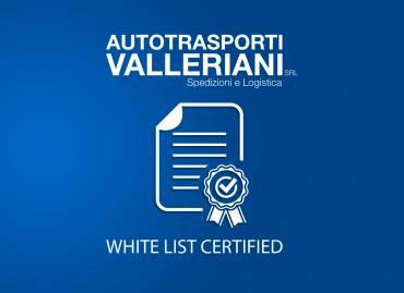 Certificazione White List